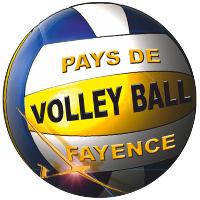 QUENTALYS EQUIPEMENT SPORT | LOGO PAYS DE FAYENCE VOLLEYBALL
